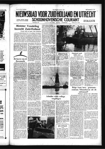 Schoonhovensche Courant 1958-11-26