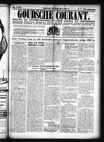 Goudsche Courant 1931-08-29