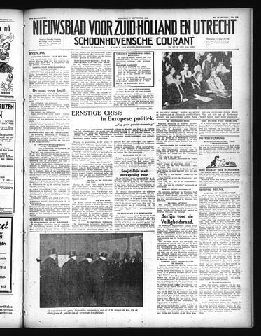 Schoonhovensche Courant 1948-09-27