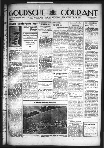 Goudsche Courant 1940-10-25