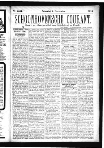 Schoonhovensche Courant 1913-12-06