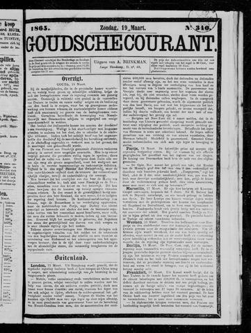 Goudsche Courant 1865-03-19