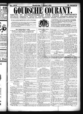 Goudsche Courant 1932-01-07