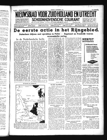 Schoonhovensche Courant 1939-09-08