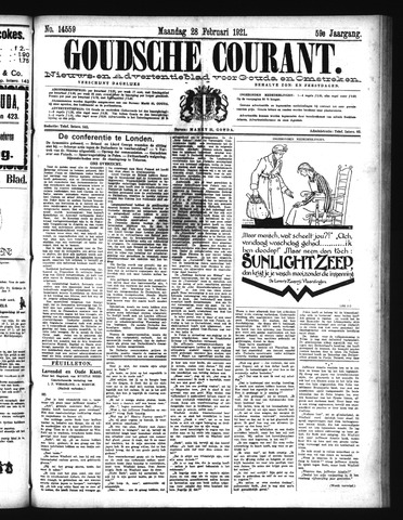 Goudsche Courant 1921-02-28
