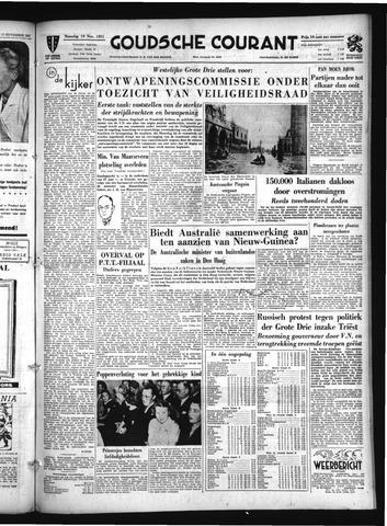 Goudsche Courant 1951-11-19