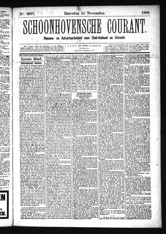Schoonhovensche Courant 1908-11-14