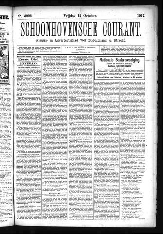 Schoonhovensche Courant 1917-10-12