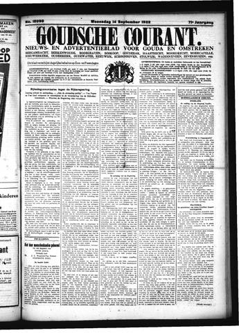 Goudsche Courant 1932-09-14