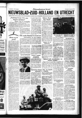 Schoonhovensche Courant 1963-09-25