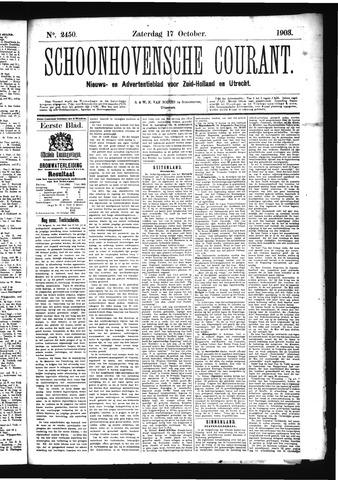 Schoonhovensche Courant 1903-10-17