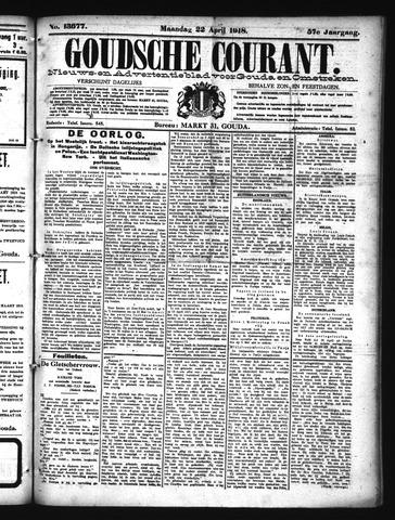 Goudsche Courant 1918-04-22