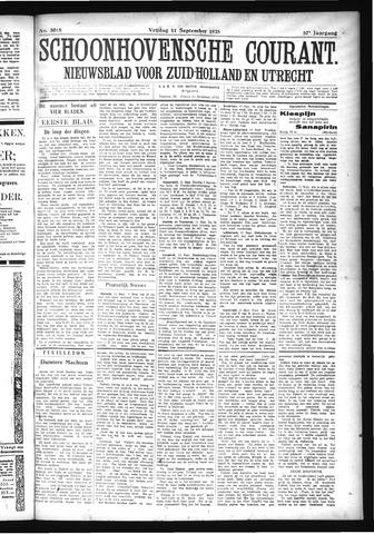 Schoonhovensche Courant 1925-09-11