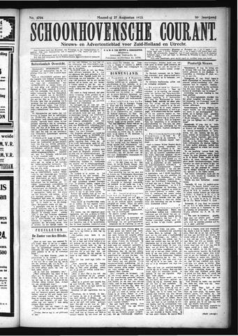 Schoonhovensche Courant 1923-08-27