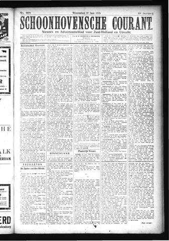 Schoonhovensche Courant 1923-06-27