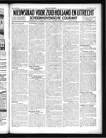 Schoonhovensche Courant 1946-09-25