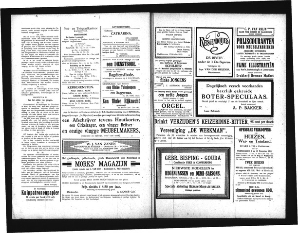 Advertentieblad Waddinxveen 1915-11-14