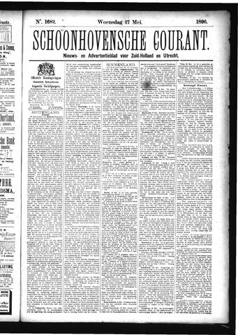 Schoonhovensche Courant 1896-05-27