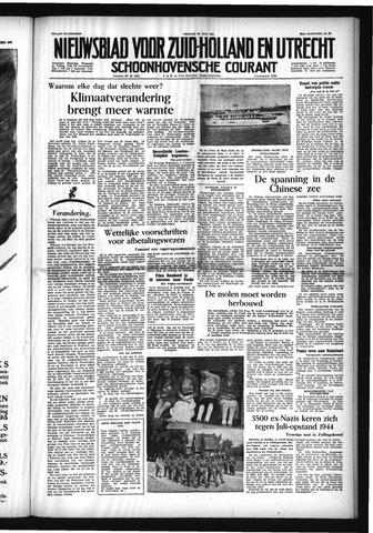 Schoonhovensche Courant 1954-07-30