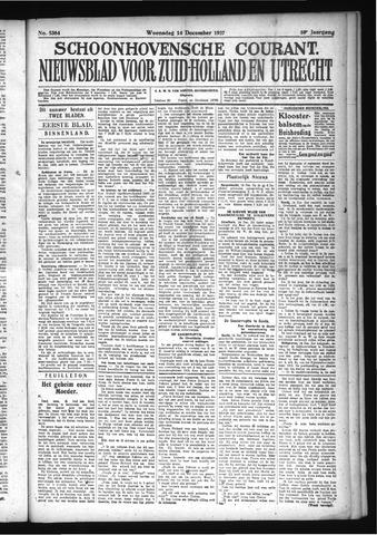 Schoonhovensche Courant 1927-12-14