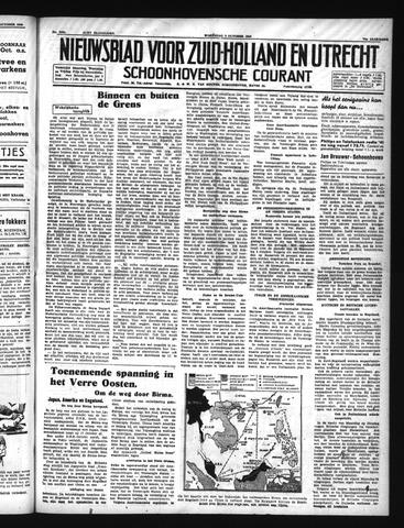 Schoonhovensche Courant 1940-10-09
