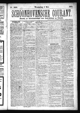 Schoonhovensche Courant 1911-05-03