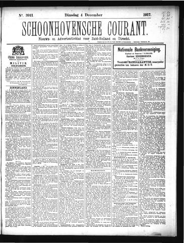 Schoonhovensche Courant 1917-12-04