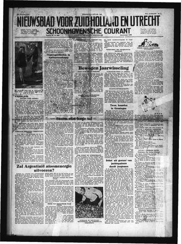 Schoonhovensche Courant 1952