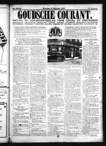 Goudsche Courant 1937-02-09