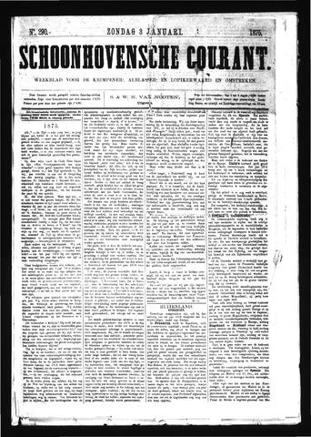 Schoonhovensche Courant 1875