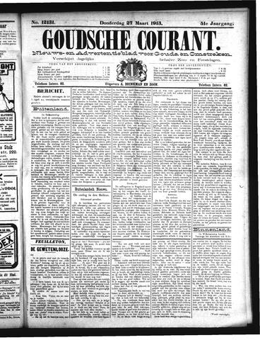 Goudsche Courant 1913-03-27