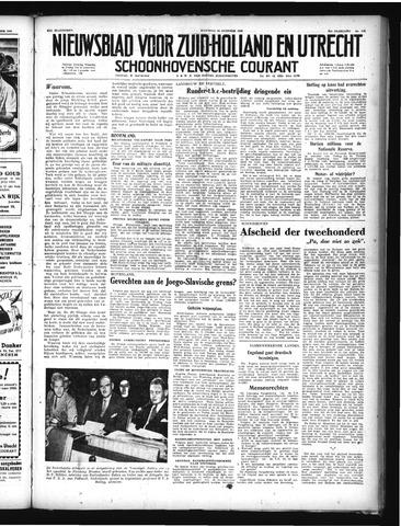 Schoonhovensche Courant 1949-10-24