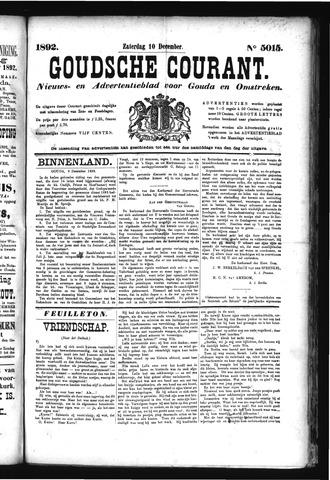 Goudsche Courant 1892-12-10