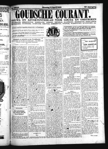 Goudsche Courant 1935-04-09