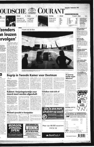 Goudsche Courant 2002-09-07