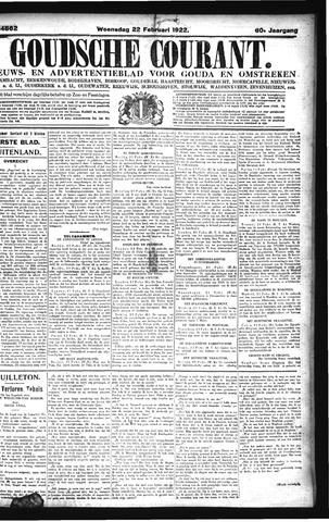 Goudsche Courant 1922-02-22