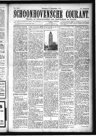 Schoonhovensche Courant 1923-09-17