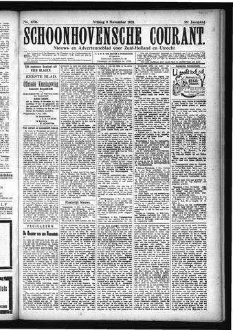 Schoonhovensche Courant 1923-11-09