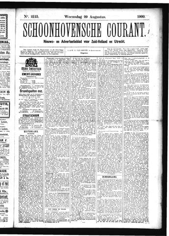 Schoonhovensche Courant 1900-08-29