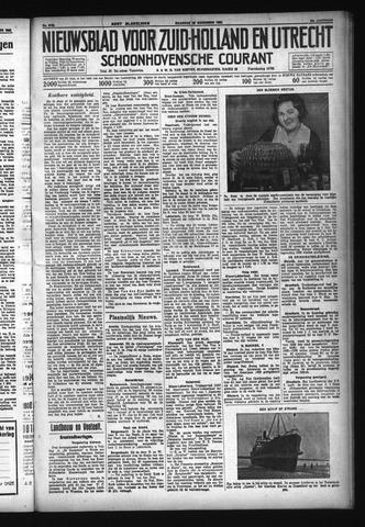 Schoonhovensche Courant 1932-11-28