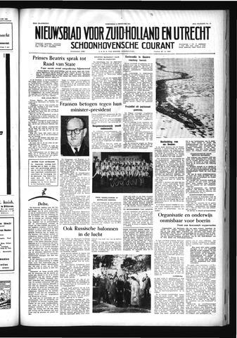 Schoonhovensche Courant 1956-02-08
