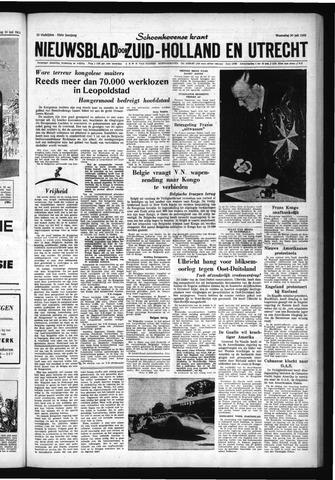 Schoonhovensche Courant 1960-07-20