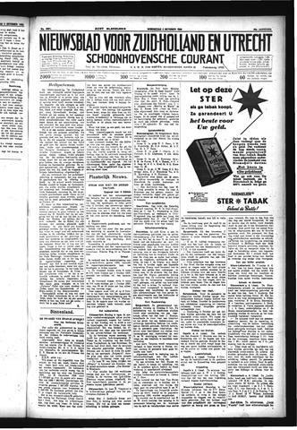 Schoonhovensche Courant 1933-10-04