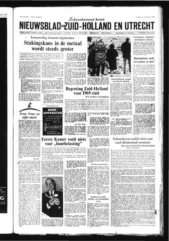 Schoonhovensche Courant 1968-11-22