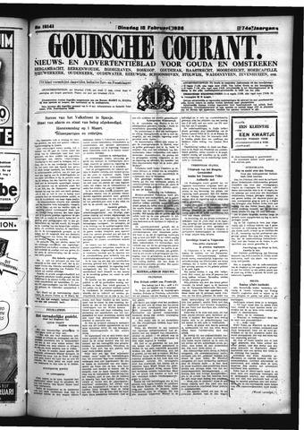 Goudsche Courant 1936-02-18