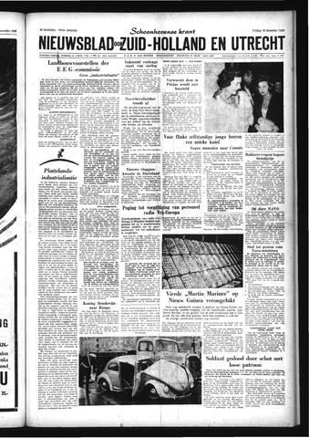 Schoonhovensche Courant 1959-12-18