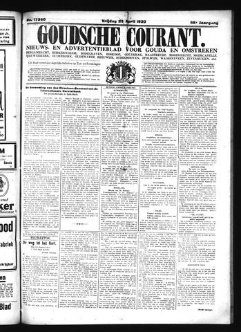 Goudsche Courant 1930-04-25