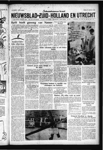 Schoonhovensche Courant 1961-09-29