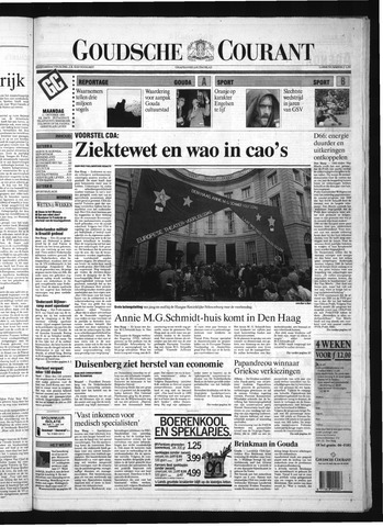 Goudsche Courant 1993-10-11
