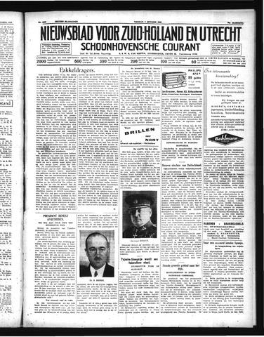 Schoonhovensche Courant 1938-10-07
